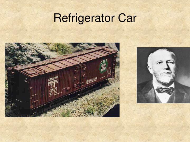 Refrigerator Car