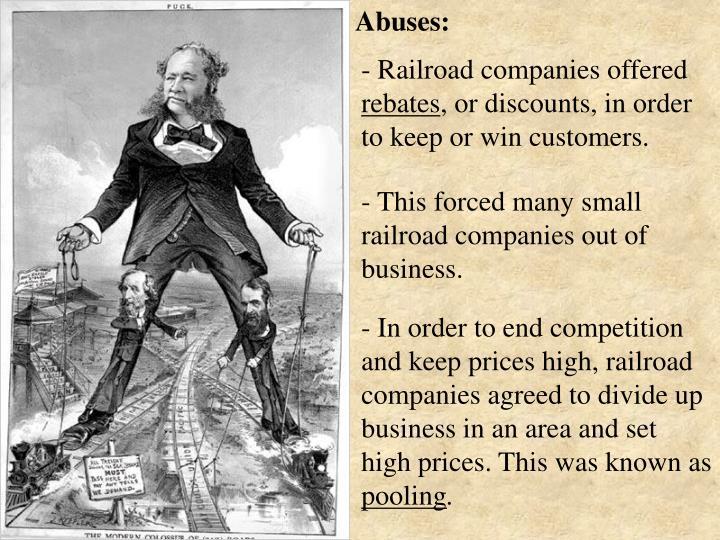 Abuses: