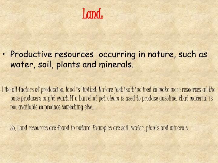 Land: