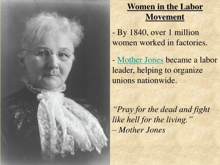 Women in the Labor Movement