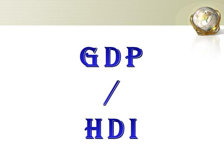GDP /