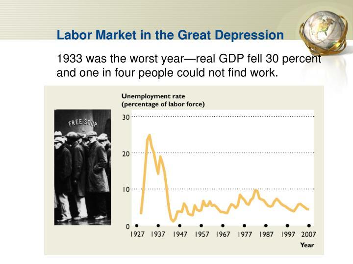 Labor Market in the Great Depression