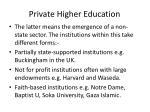 private higher education3