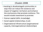 chaskin 2008