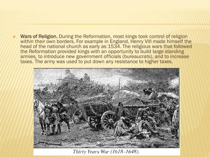 Wars of Religion