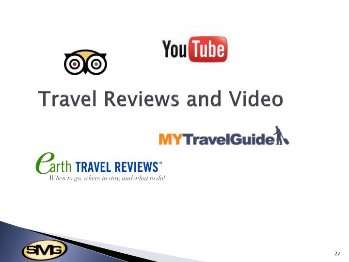 Travel Reviews and Video
