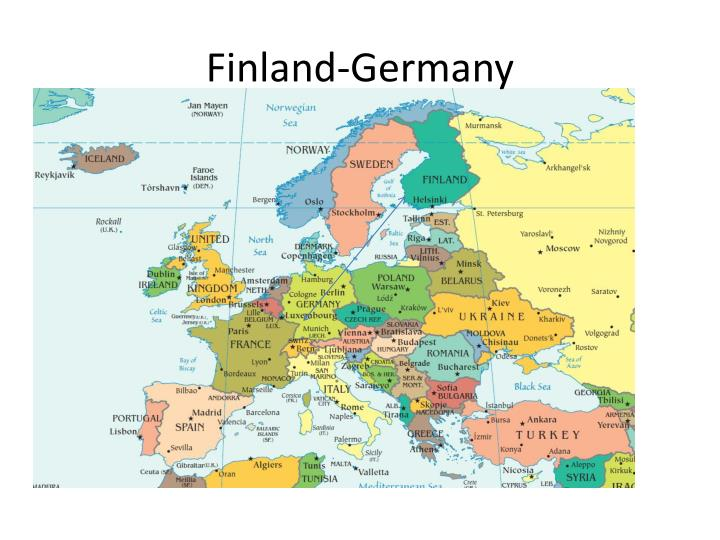 Finland germany