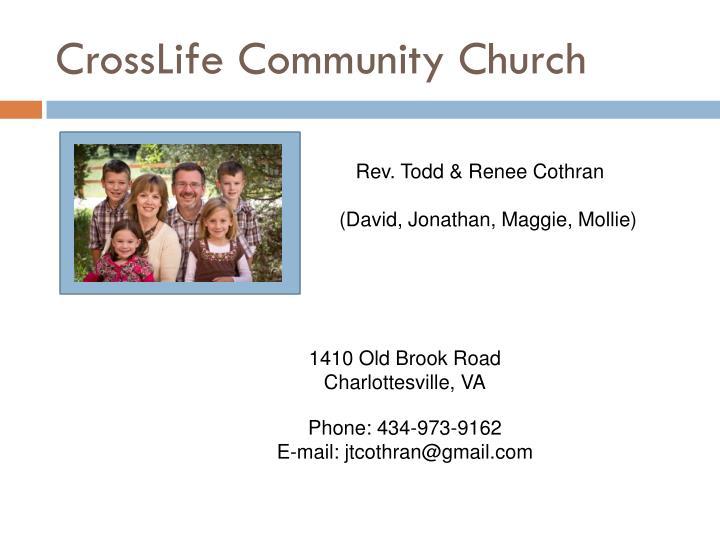 CrossLife Community Church