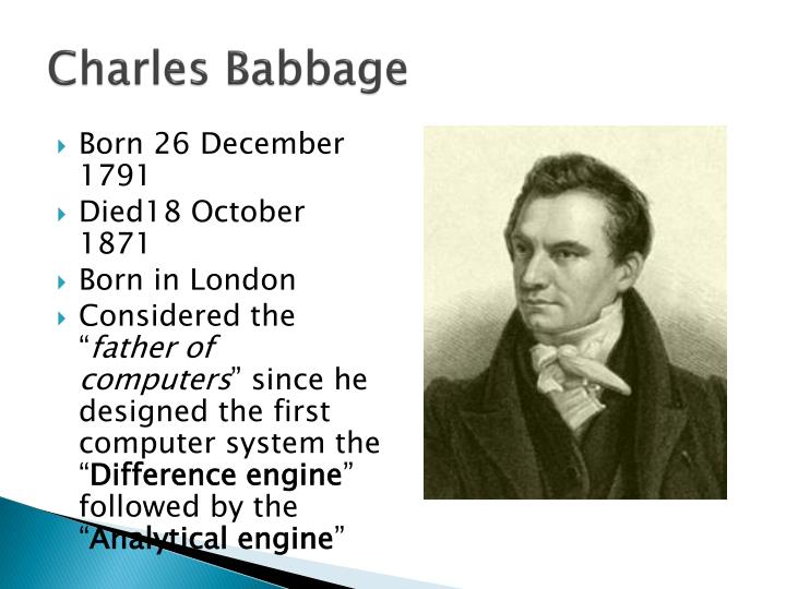 charles babbage essays 1st edition first editions of charles babbage's first papers as well as his most important contribution to mathematics, the calculus of functions the calculus of functions is undoubtedly babbage's major mathematical invention.