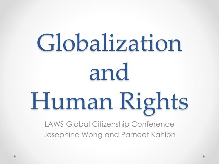 Ppt globalization and human rights powerpoint presentation id globalization and human rights toneelgroepblik Images