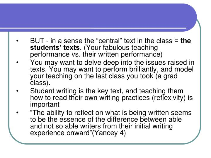 """BUT - in a sense the """"central"""" text in the class ="""