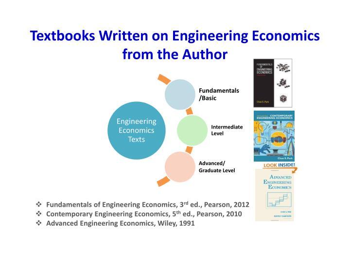 Textbooks Written on Engineering