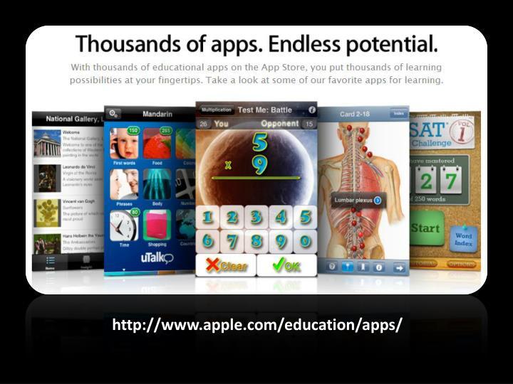 http://www.apple.com/education/apps/