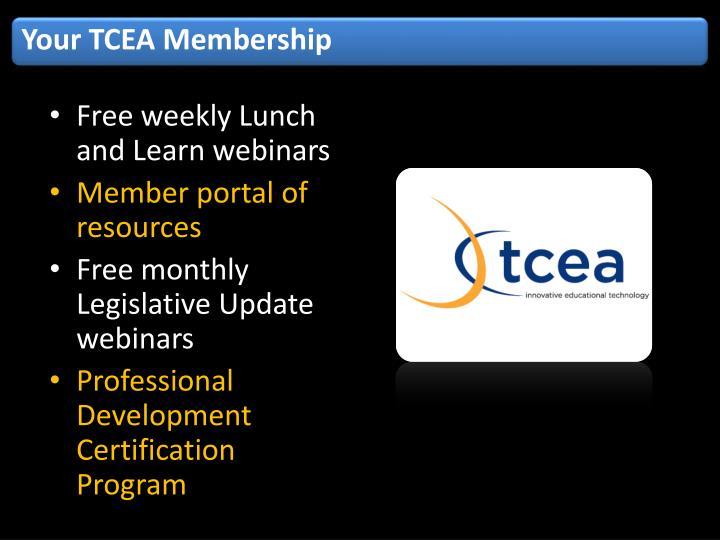 Your TCEA Membership