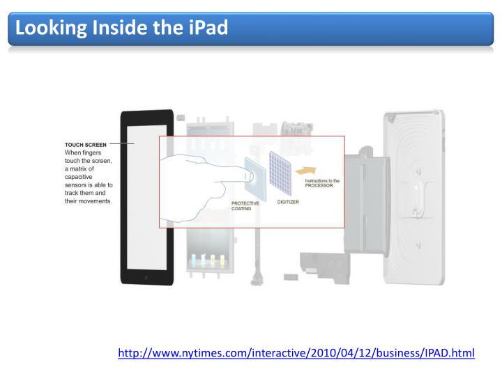 Looking Inside the iPad