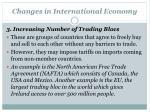 changes in international economy2