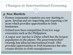 changes in international economy4