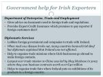 government help for irish exporters1