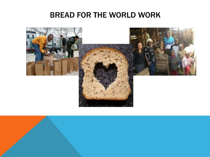 bread for the world work