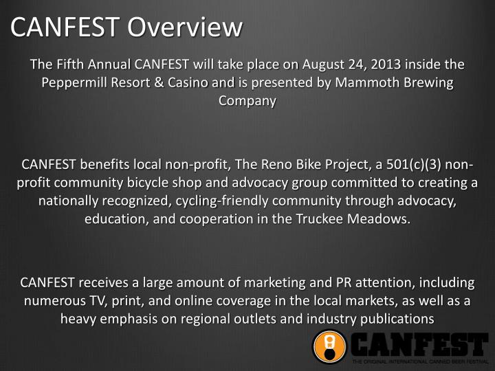 Canfest overview1