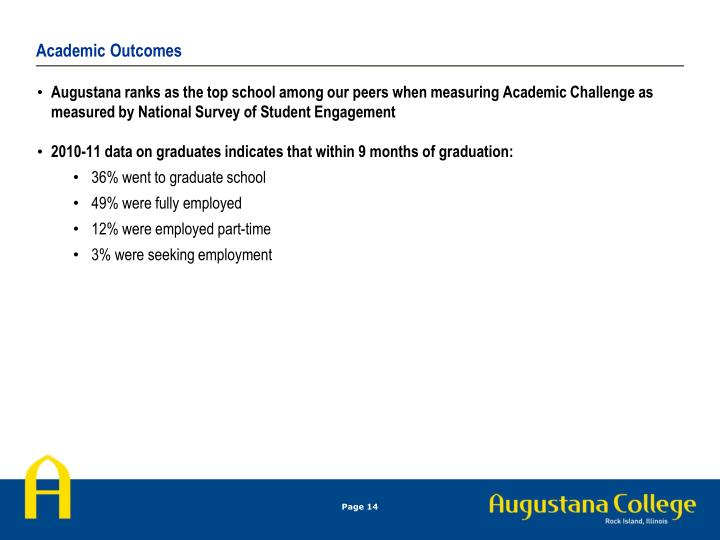Academic Outcomes