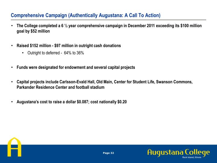 Comprehensive Campaign (Authentically