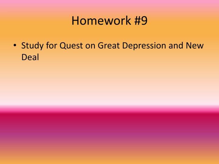 Homework #