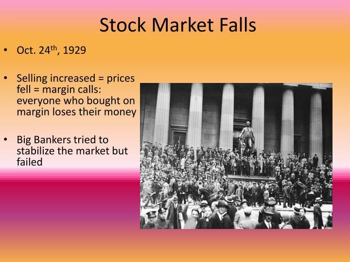 Stock Market Falls