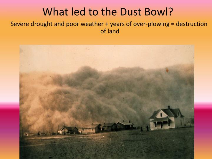 What led to the Dust Bowl?