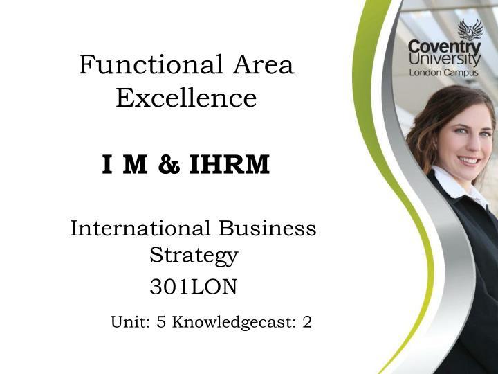 International business strategy 301lon