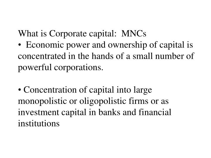What is Corporate