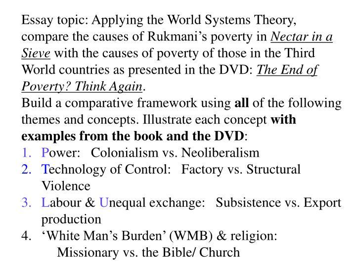 Essay topic: