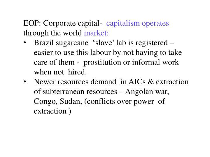 EOP: Corporate capital-