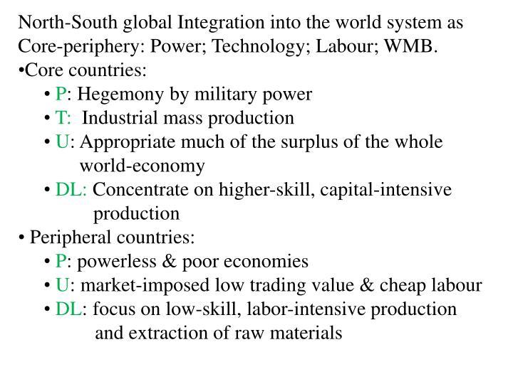 North-South global Integration