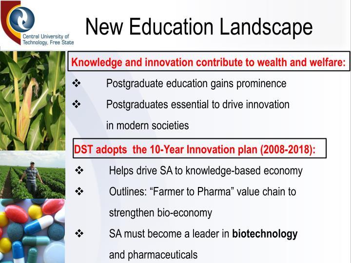 New Education Landscape