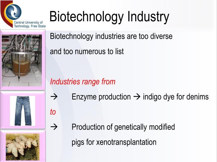 Biotechnology Industry