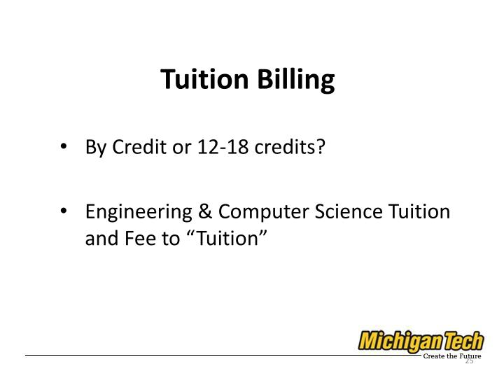 Tuition Billing