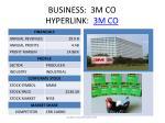 business 3m co hyperlink 3m co