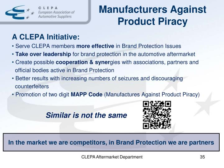 Manufacturers Against