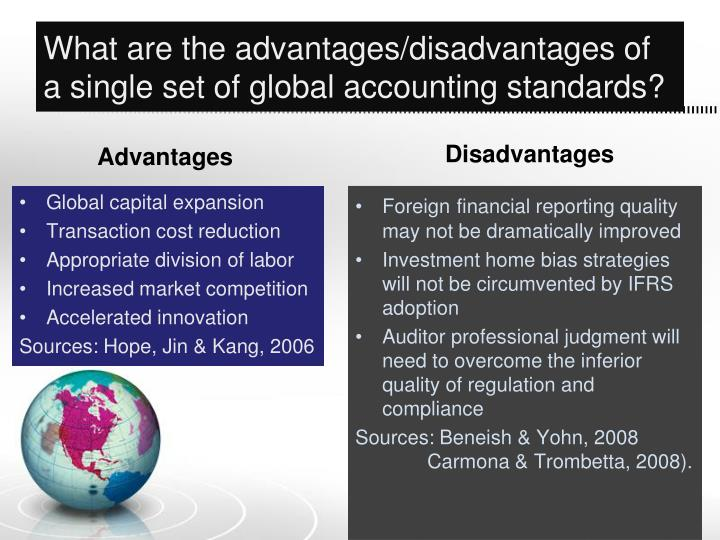 disadvantages of ifrs