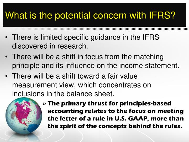Ppt  Evaluating The Influence Of Accounting Standard Convergence On