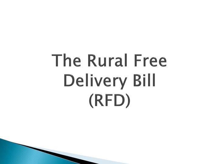 The Rural Free