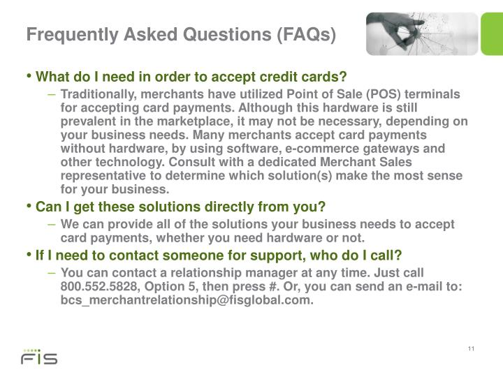 Frequently Asked Questions (FAQs)