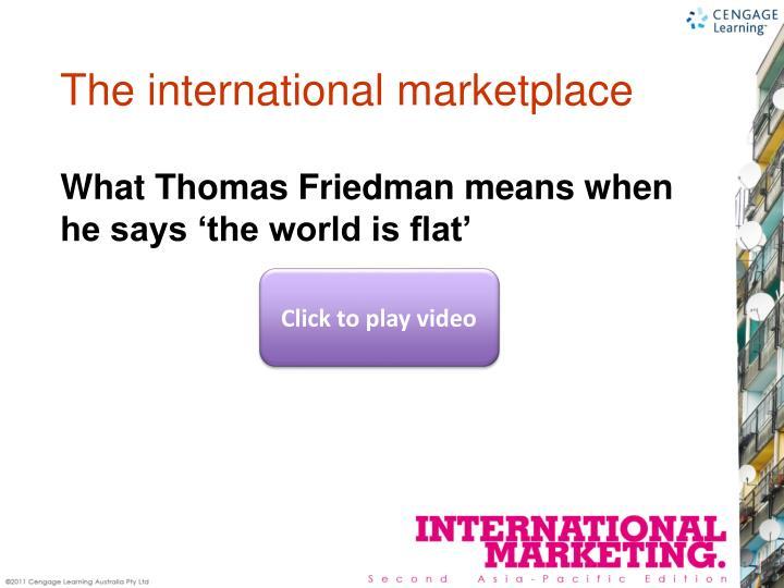 The international