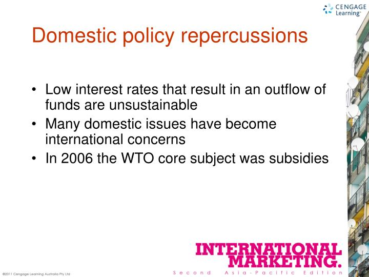 Low interest rates that result in an outflow of funds are unsustainable