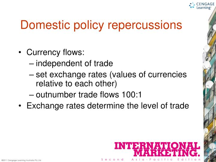 Currency flows: