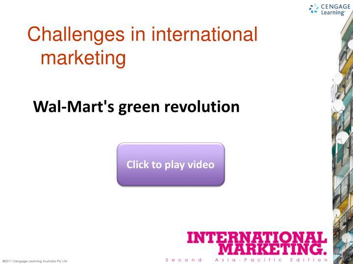 Wal-Mart's green revolution
