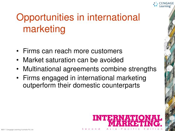 Firms can reach more customers