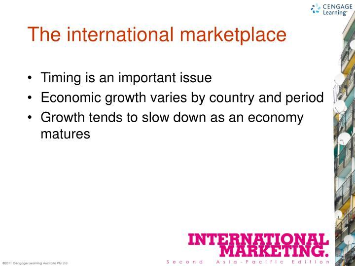 The international marketplace