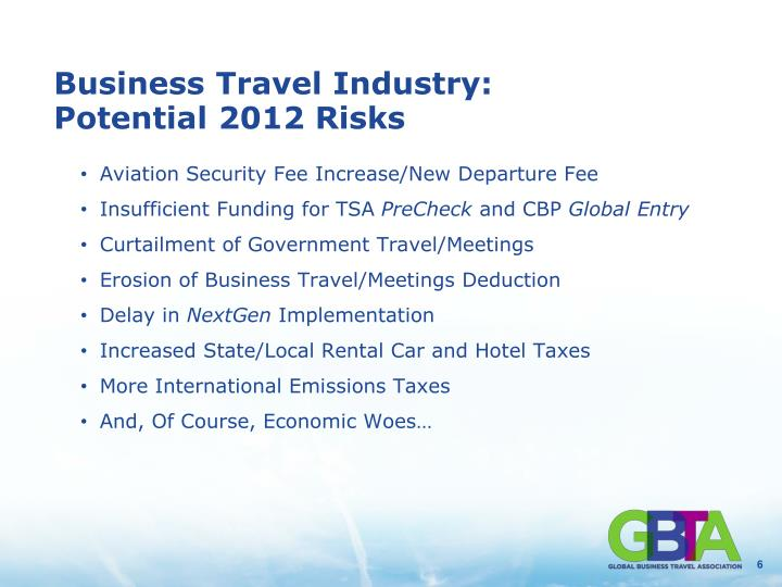 Business Travel Industry: